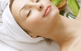 Beautiful Spa Woman. Clean Skin